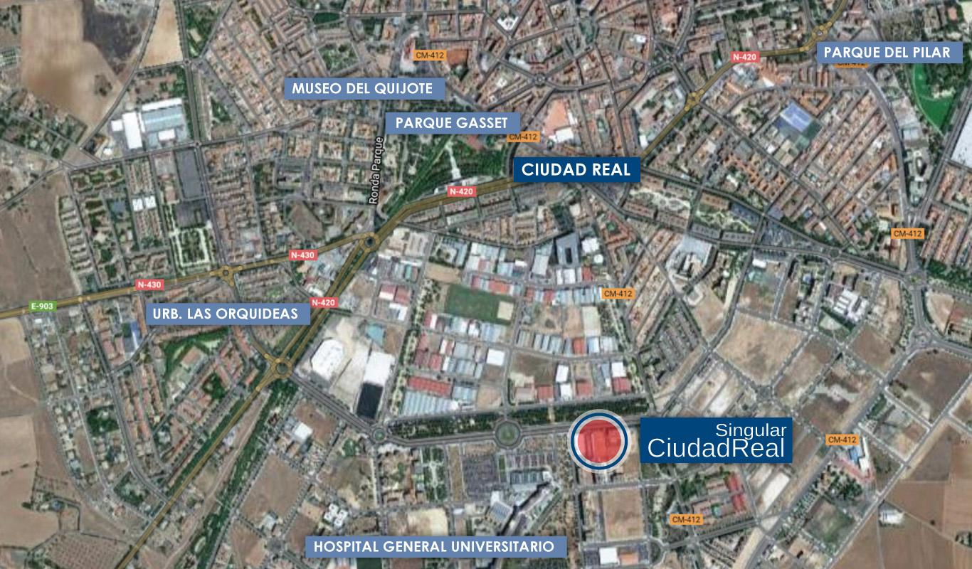 Ciudad real singular cooperativa singular - Plano de ciudad real ...