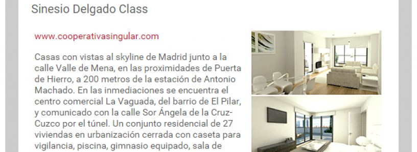 Especial inmobiliario Guia del Ocio. Sinesio Delgado Class.
