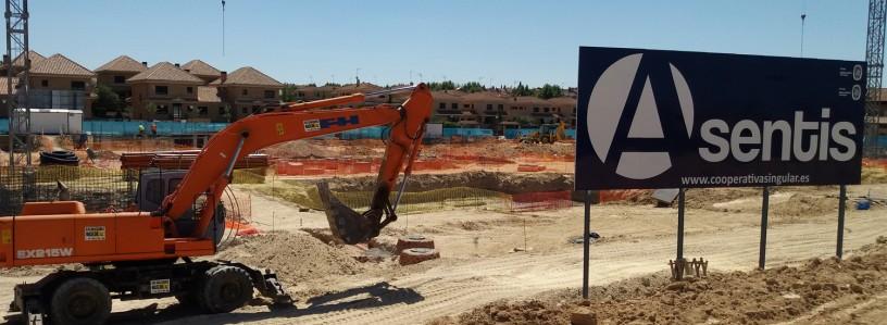 Obras Villaviciosa Class 31 chalets pareados